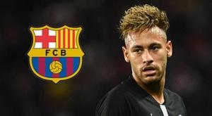 Neymar Barcelona. Goal