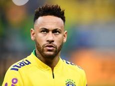 Tite justifie la sélection de Neymar. AFP