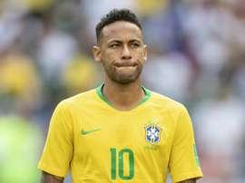 Neymar is leading Brazil. GOAL