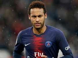 Neymar was slapped with a three-match ban by the FFF. GOAL