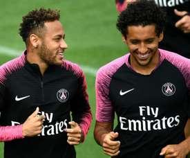 Marquinhos has spoken on Neymar's future. GOAL