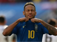 Neymar was tearful at the end of the game against Costa Rica. GOAL