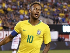 Neymar's Brazil face Argentina in a friendly on Tuesday. GOAL