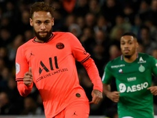Neymar's desire praised by Leonardo amid ongoing doubts over PSG future. AFP