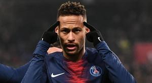 Neymar made his long-awaited return from injury v Monaco. GOAL
