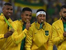 Neymar e cia ouro - Brasil x Alemanha. Goal