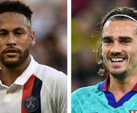 Barcellona e PSG ci pensano: scambio Neymar-Griezmann