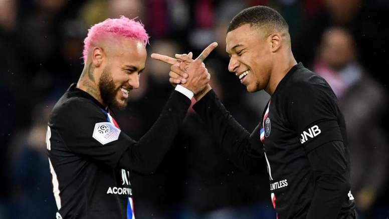 Le groupe du PSG pour affronter Amiens en Ligue 1. AFP