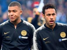 Neymar et Mbappé s'entendent bien. Goal