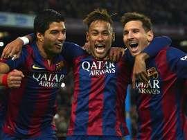 Ronaldinho aussi fait campagne pour un retour de Neymar au Barça. Goal