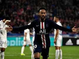 Neymar a encore frappé. Goal