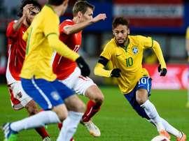 Brasil nunca perdeu para a Áustria. Goal