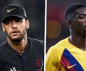 Chegada de Ney pode mexer com futuro de Dembélé no Barça