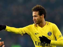 Neymar PSG 2018