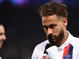 PSG, Neymar deuxième personnalité la plus recherchée au monde. AFP
