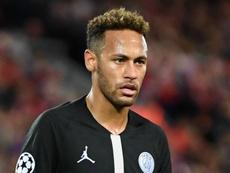 Neymar PSG Paris Saint-Germain 2018-19. Goal