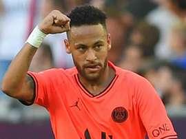PSG, sorriso Neymar: di nuovo in gruppo dopo l'infortunio