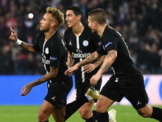 Neymar PSG Red Star Belgrade UEFA Champions League. Goal