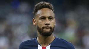 Neymar jouera face à Angers. AFP