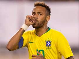Neymar USA Brazil Friendly. Goal