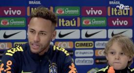 Neymar est fatigué des rumeurs. Goal