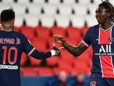 Neymar and Kean have returned to PSG. GOAL