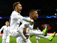 Mbappé has hailed the influence of clubmate Neymar. GOAL
