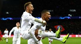 Mbappé has hailed the influence of clubmate Neymar. GOAL