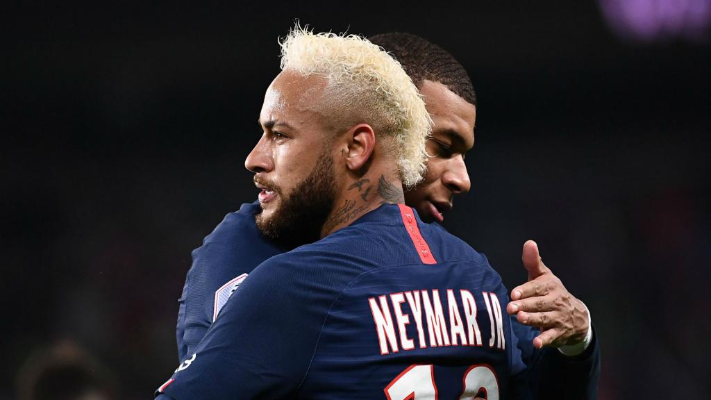 Neymar PSG's four-man attack is working