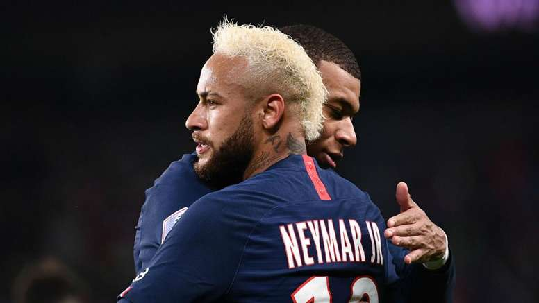 Neymar: PSG's four-man attack is working