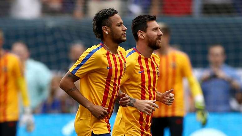 Messi thinks Neymar regrets leaving. GOAL