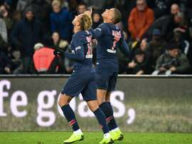 Both Mbappe and Neymar got on to the scoresheet. GOAL