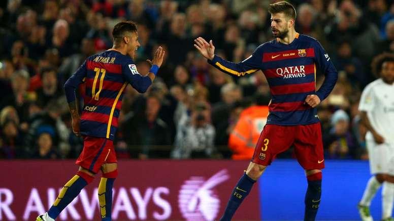Neymar must talk – Pique