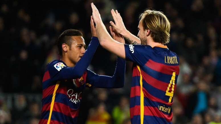 Rakitic has admitted that losing Neymar to PSG was a bitter blow. GOAL