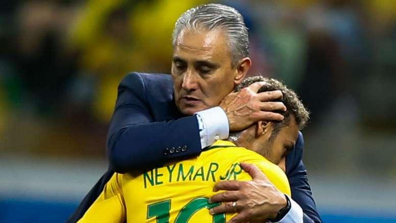 Tite has said he will not jeopardise Neymar's health. GOAL