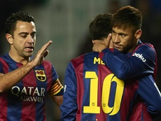 Xavi says Neymar can improve. GOAL