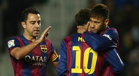 Xavi says Neymar can improve. GOAL