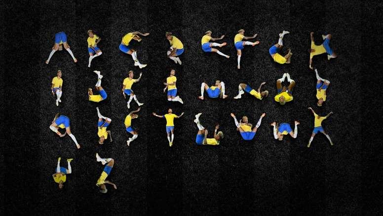 A Ney Type é a fonte baseada nas quedas do camisa 10 do Brasil. Goal