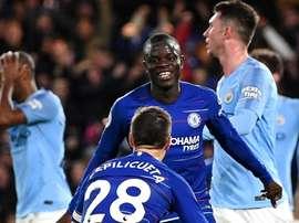Des 'Blues' surprenants. Goal