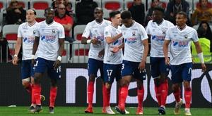 Bonne réaction de Caen. Goal