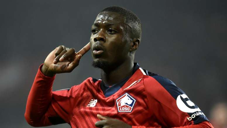 Liverpool have spoken to Pepe, says Lille president