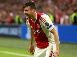 I almost scored as many as Messi - Tagliafico the unlikely hero for Ajax