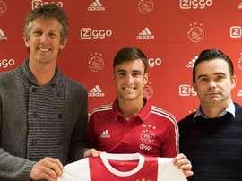 Ajax complete signing of Argentina defender Tagliafico