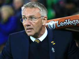 Adkins will not be the Hull manager next season. GOAL