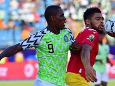 La qualification se rapproche pour le Nigeria ! AFP