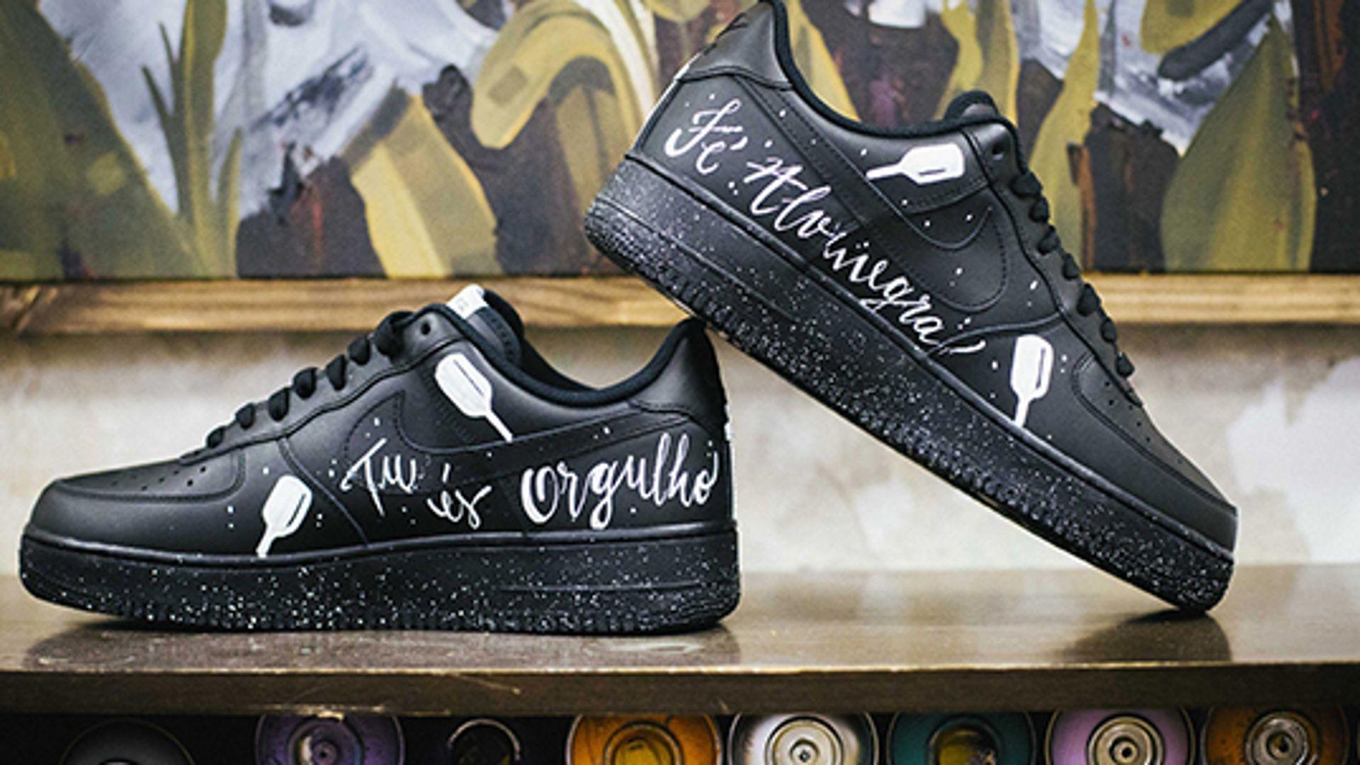 Tênis Nike Air Force 1 Customizado
