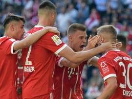 Bayern venceu pela Bundesliga. Goal