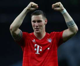 Sule back training with ball as Bayern defender continues recovery. GOAL