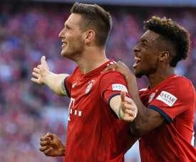 Süle donne la victoire au Bayern.  Goal