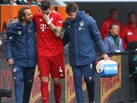 Rupture du ligament pour Sule. Goal